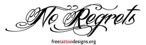 tattoo quotes no regrets stay beautiful quotes stencils quotesgram