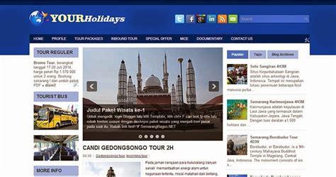 tutorial website untuk pemula template blog untuk tour travel semarangbagus net