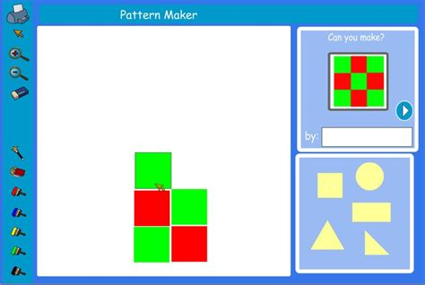 pattern making using shapes 17 best images about 2d shape resources special needs on