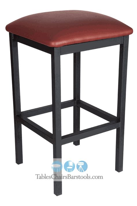 Seating Stool by Gladiator Commercial Grade Square Backless Bar Stool