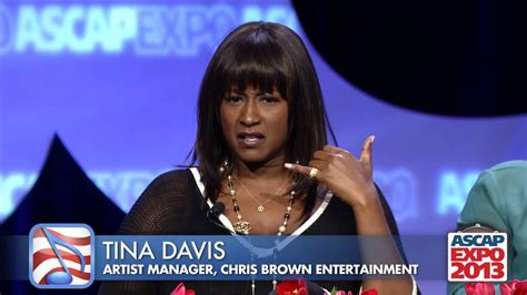 tina davis chris brown s manager on working with men in the music