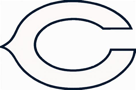 chicago bears coloring pages bing images