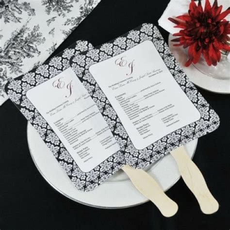wedding program fans kit pinterest discover and save creative ideas