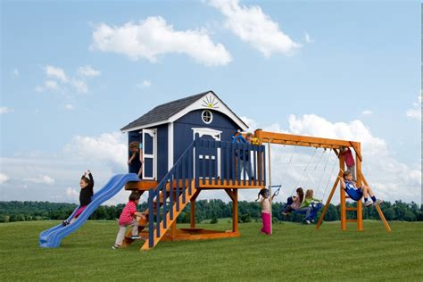 pirate swing set king swings the pirate s palace wooden swingsets lancaster