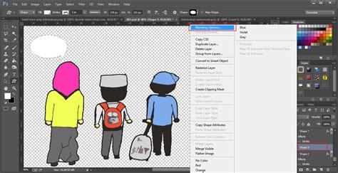 Tutorial Photoshop Komik | tutorial cara membuat komik dengan coreldraw photoshop
