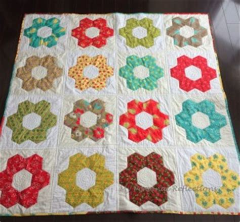 Patchwork Shapes - hexagon quilt pattern 20 designs and ideasto sew your next