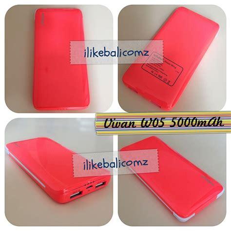 Log On Charger 2 Output Hitam kode produk w05 warna hitam putih pink biru merah