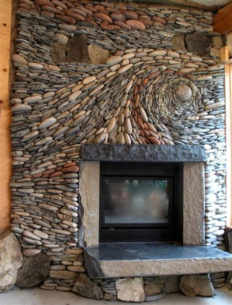 wohnzimmer mit steinwand kaminofen bringt gem 252 tlichkeit und stil in ihr zuhause