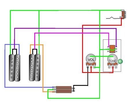telecaster 3 way coil tap wiring diagram telecaster get