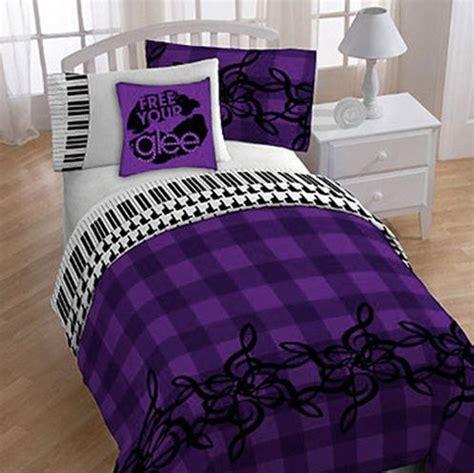 music comforter set cheap glee piano treble clef music themed twin comforter