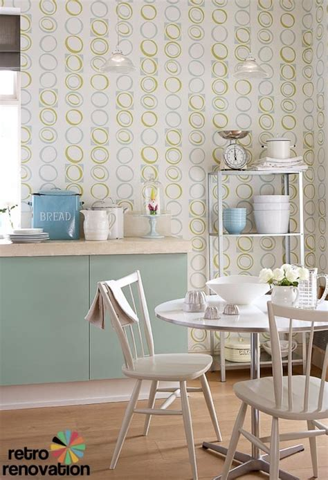 kitchen wallpaper ideas uk retro wallpaper from original 1960s and 1970s designs