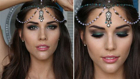 gallery special events special events hair and makeup classes green smokey eye makeup tutorial prom clubbing bridal