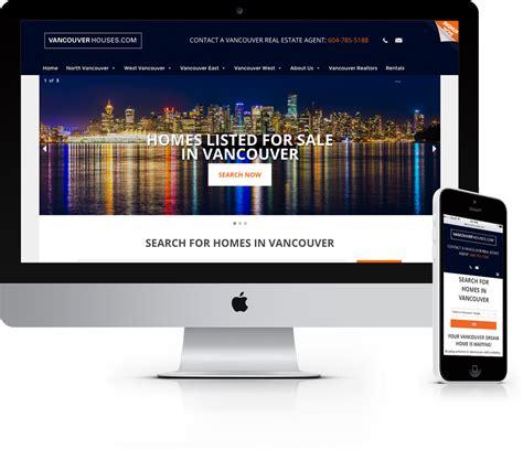 house real estate websites vancouver houses real estate website jaden nyberg designs