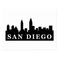 San Diego Skyline Postcard Zazzle » Ideas Home Design