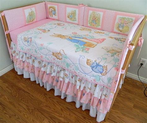 peter rabbit crib bedding 4 piece peter rabbit nursery set by kozykidzshop on etsy