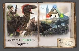 open dinosaur survival fantasy game ark survival evolved announced steam console