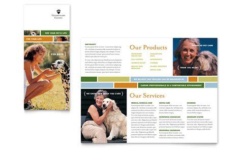 Veterinarian Clinic Brochure Template Design