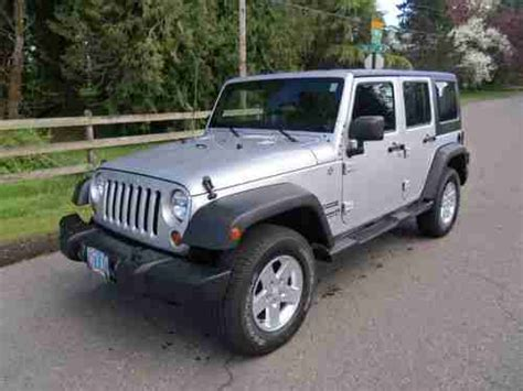 2012 Jeep Grand Tow Package Sell Used 2012 Jeep Wrangler Sport Unlimited 1 Owner 18k