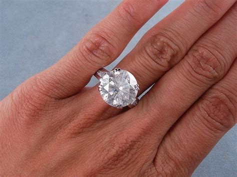 7 25 carats ct tw cut engagement ring h si3
