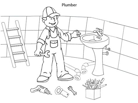Page Plumbing by Plumbing Coloring Pages Printable Coloring Pages