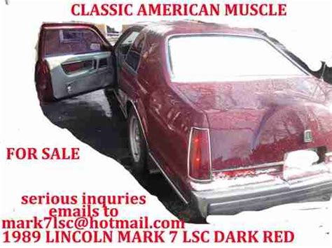 online auto repair manual 1989 lincoln continental mark vii seat position control service manual free workshop manual 1989 lincoln continental mark vii 1986 lincoln