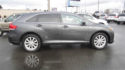 magnetic gray 2009 toyota venza magnetic gray metallic stock 30076a
