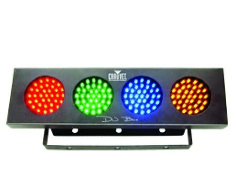 cheap led dj lights dropship wholesale chauvet 4 color dj bank 140 led