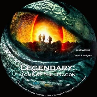 legendary: tomb of the dragon dvd covers & labels by