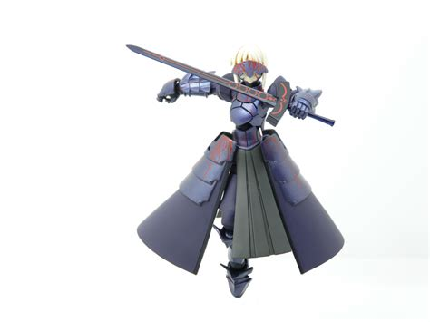 Mainan Figure Saber Alter Static Figure toys n more mini review revoltech saber alter