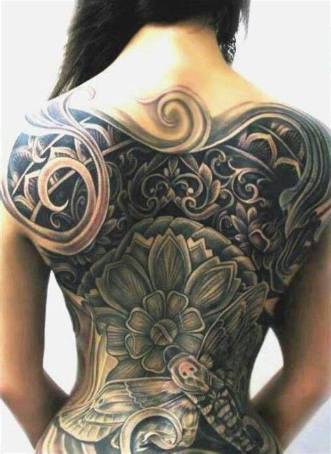 big tattoos for females 22 best large back tattoos for images on