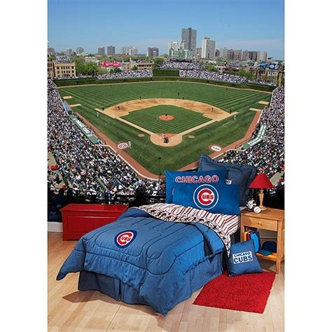 chicago cubs bedding chicago cubs bedroom jaren pinterest