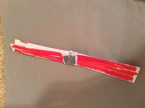 Origami Lightsaber - darth maul lightsaber origami yoda