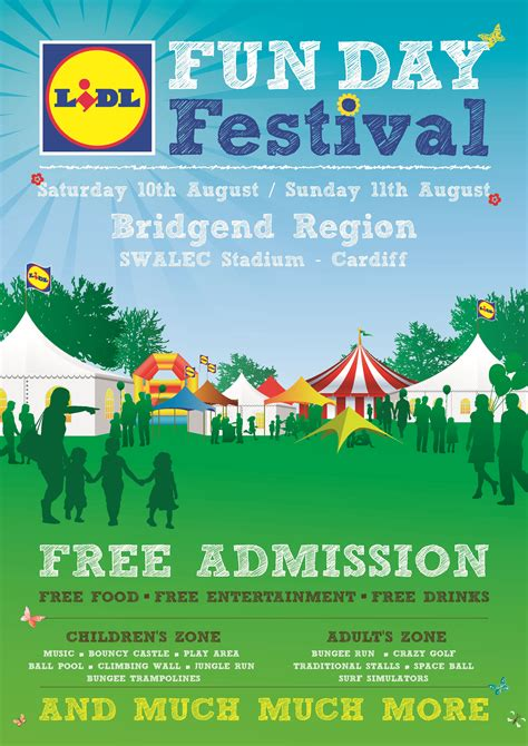 poster design fun day lidl fun day poster stephen davies photography