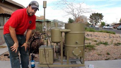 amazing homemade gasifier  wood pellets  run