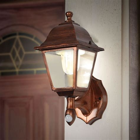 Porch Light the cordless motion activated porch light hammacher schlemmer