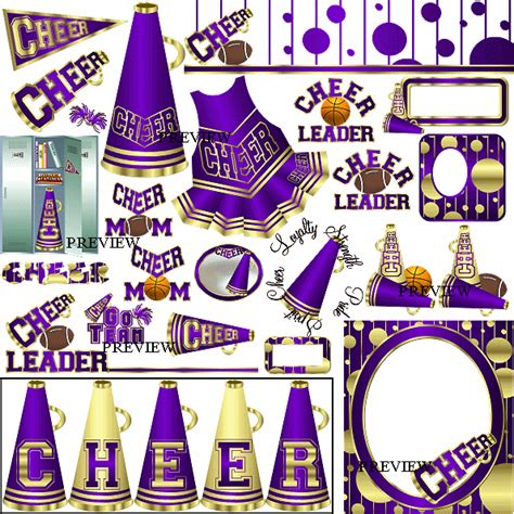 cheerleading clipart cheer clipart from j rett graphics