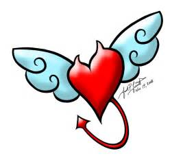 hearts with wings pictures clipart best