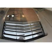 C7 Corvette Carbon Fiber Hood Vent  Matching Weave