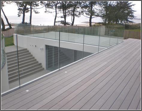 glass deck railing systems pricing bing images