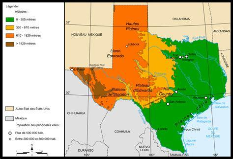 texas landform map file map relief texas png wikimedia commons