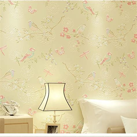 bird wallpaper home decor paper sugar picture more detailed picture about 3d