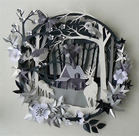 Paper Cutting Craft Work - 40 awesome works of made from paper noupe