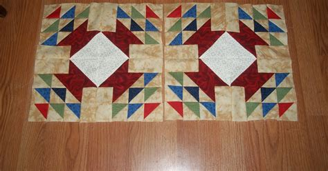 Acu Quilt by Sharp Quilts Accuquilt Go Quilt Along Top Completed