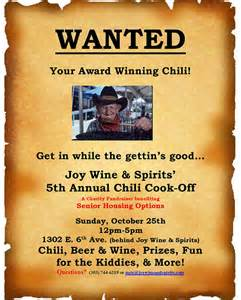 chili cook off template ebook database