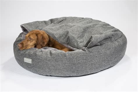 cave dog bed comfort cocoon dog cave bed grey