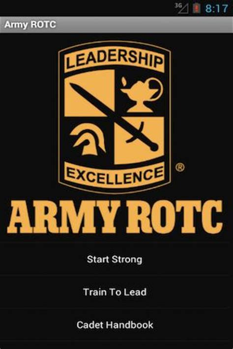 cadet reference book jrotc rotc handbook android apps on play