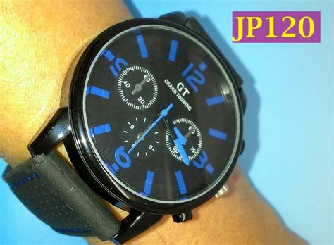 Jam Tangan Gt Touring jp120 jam tangan pria sport f1 racing gt grand touring
