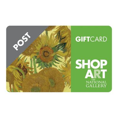 Gift Cards By Post - gift cards by post unique gifts national gallery