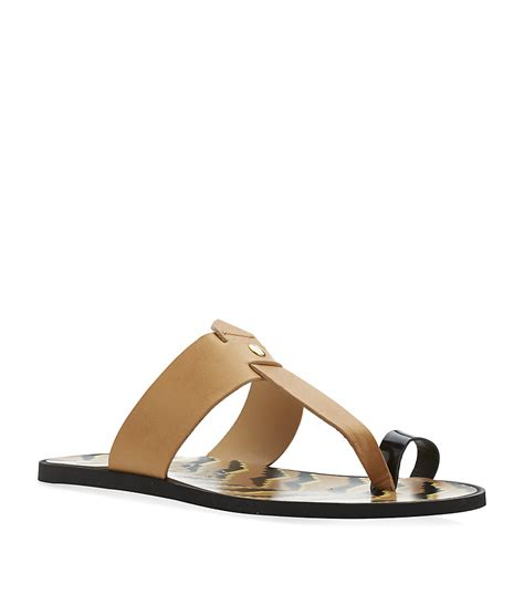 sandals with toe loop vivienne westwood toe loop sandal in brown for lyst