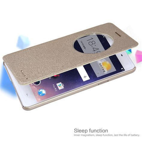 Flip Ume Oppo F1a35 nillkin sparkle series new leather for oppo f1 a35